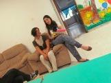 Mariana Morales y Tallersita Vanessa Fenton