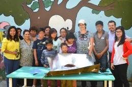 [Taller JARDICNITO] El taller de Cocina Solar impartido por artista Lorena Harp. ¡¡Muchas gracias el artista Lorena Harp y Nancy Ruth!!